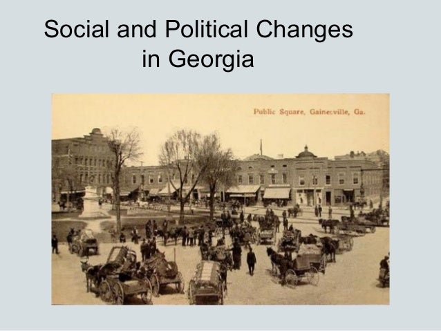 Social and Political Changes         in Georgia