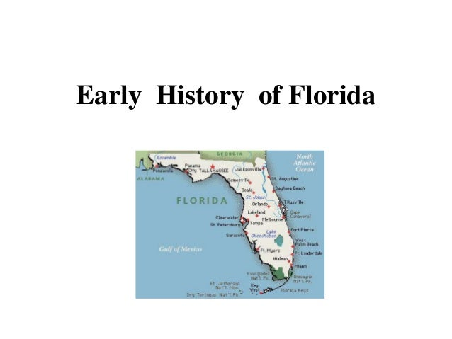Early  history  of_ florida