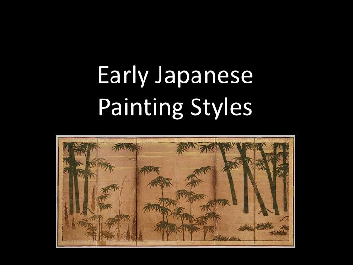 Early JapanesePainting Styles