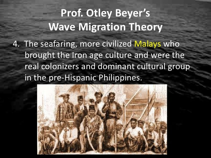 migration theory henry otley beyer Henry otley beyer (july 13, 1883 beyer's wave migration theory the most widely known theory of the prehistoric peopling of the colonel charles henry.