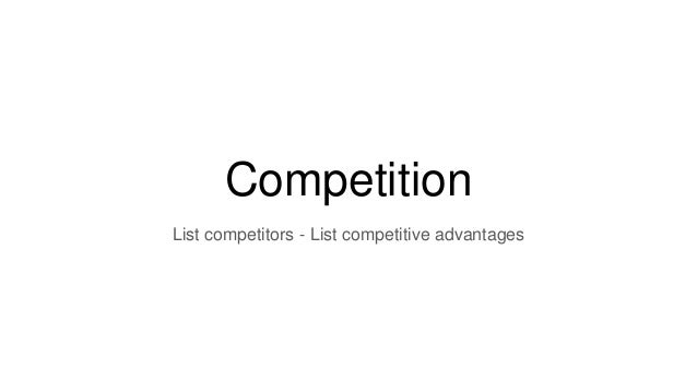 Business plan competition list