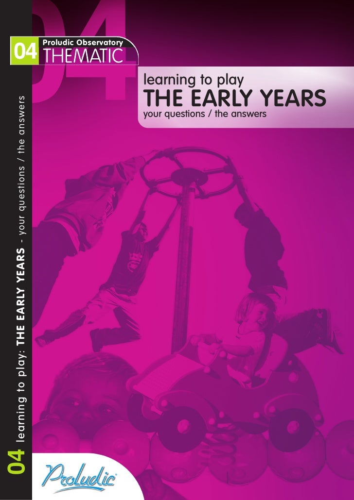 Early Years Guide from Proludic