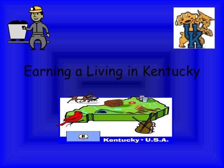 Earning a Living in Kentucky