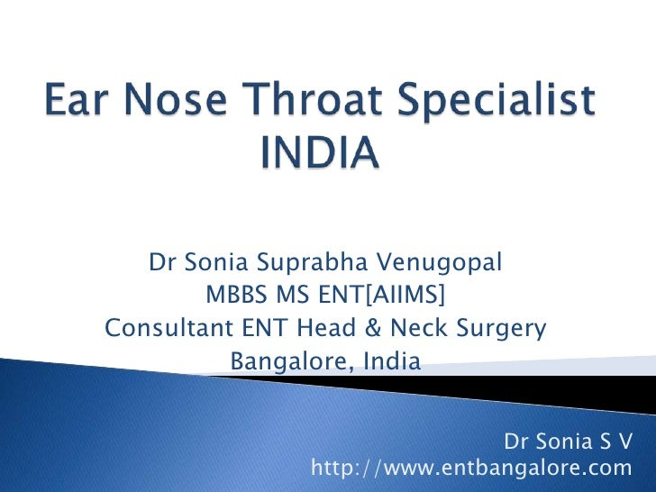 Ear nose and throat specialist in jamaica