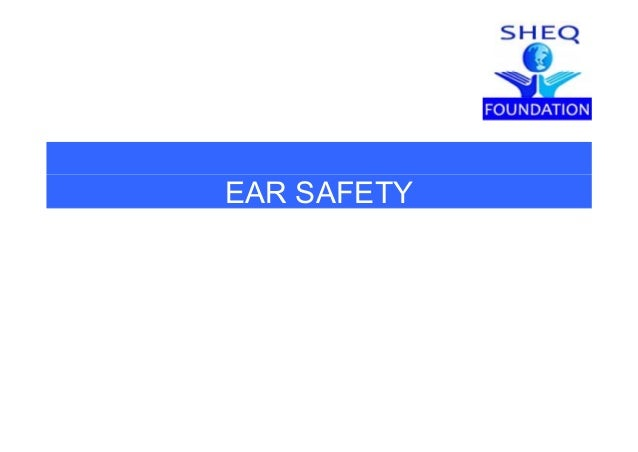 EAR SAFETY