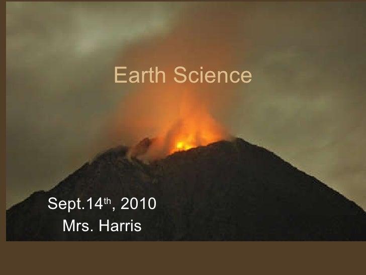 Earth's Layers Presentation