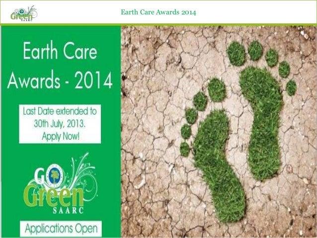 Earth care awards 2014