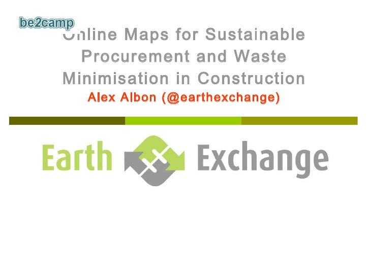 Earth Exchange (Be2camp)