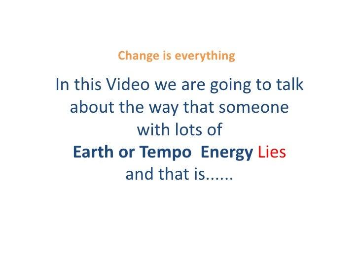 Conscious Wealth - Earth Lies