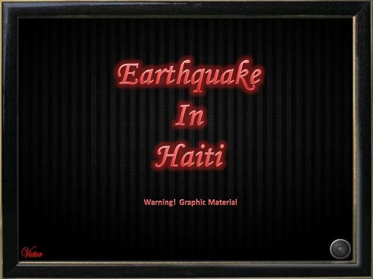 Please pray for Haiti