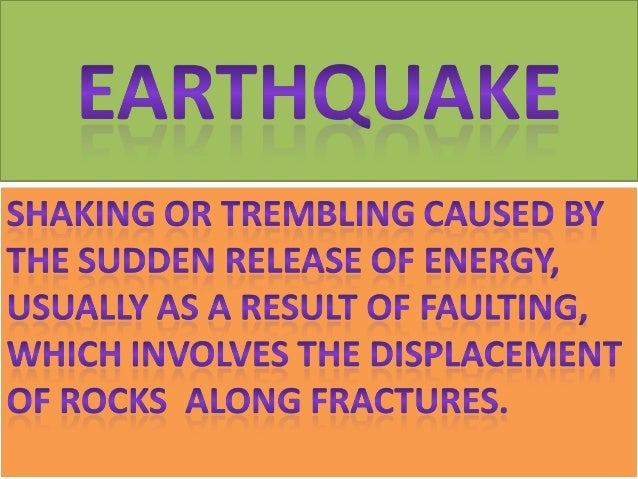History of Earthquakes • Earthquakes have been recorded as early as 1177 B.C. in China. Of course earthquakes have been a ...