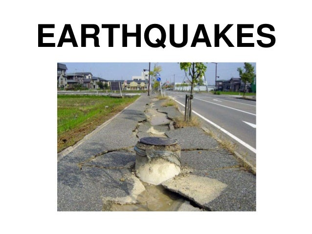 Earthquake Basics