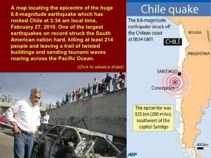 CHILE Earthquake - February 27,2010