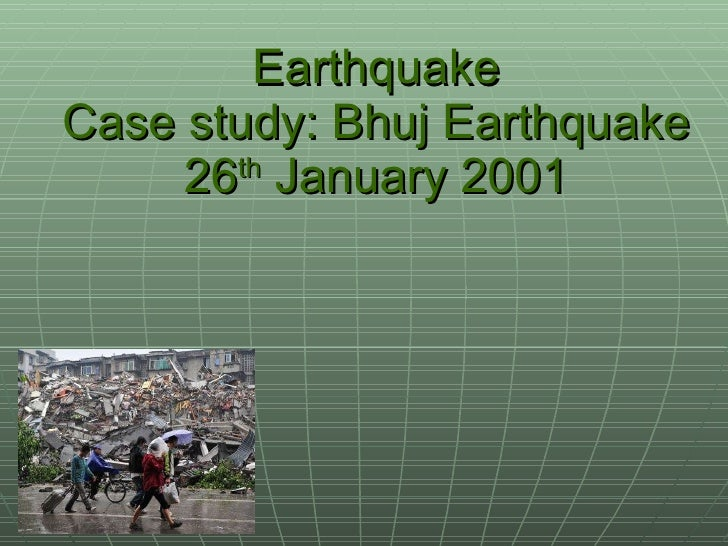 Earthquake ppt