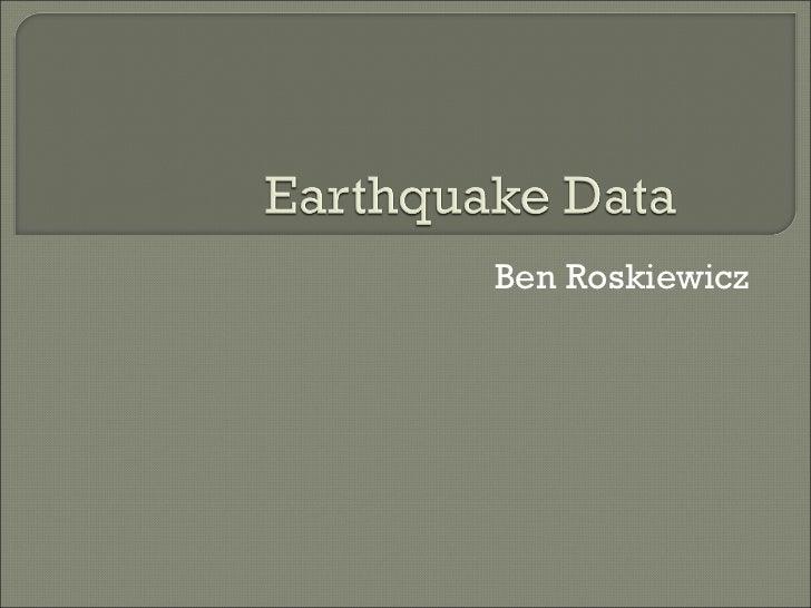 Earthquakeppt