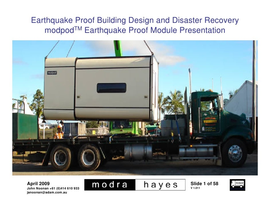 Earthquake Proof Buildings Design Earthquake Proof Building