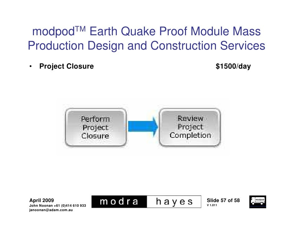 Earth Proof Buildings Modpodtm Earth Quake Proof