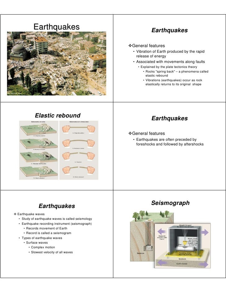 Earthquakes                                         Earthquakes                                                           ...