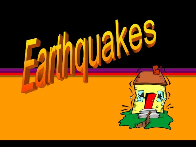 Earthquakes(1)