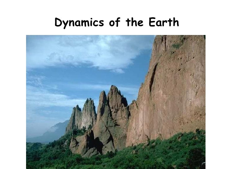 Dynamics of the Earth