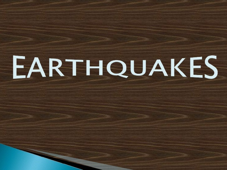 Earthquakes(Varidhi & Vidhya)
