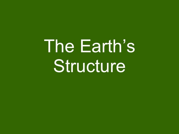 Earths structure4063