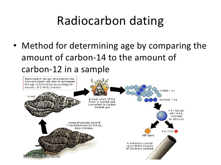 explain the process of radiocarbon dating