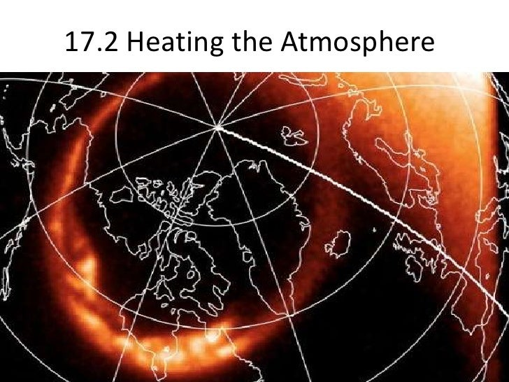 17.2 Heating the Atmosphere  <br />