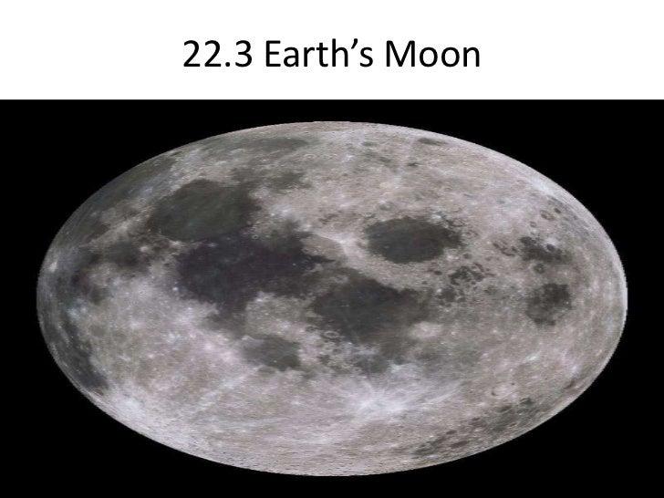22.3 Earth's Moon <br />