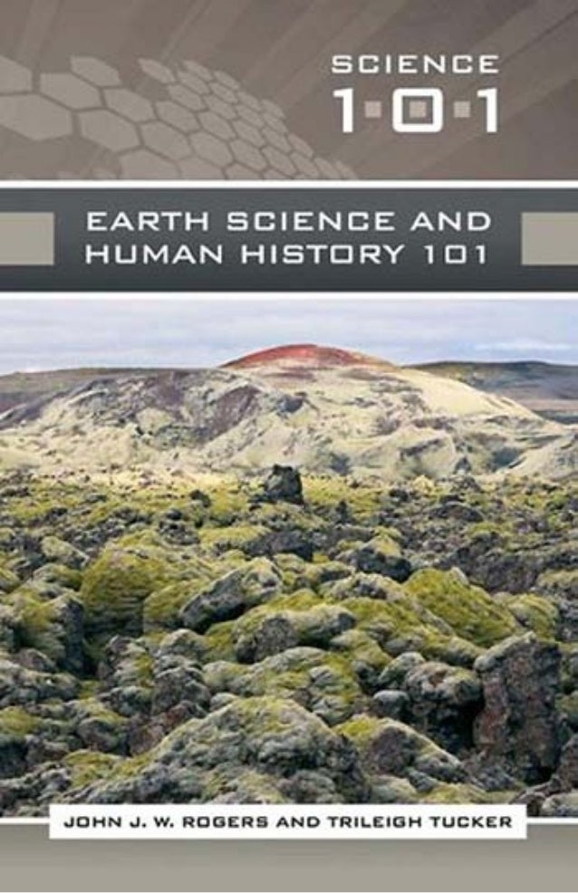 Earth Science And Human History