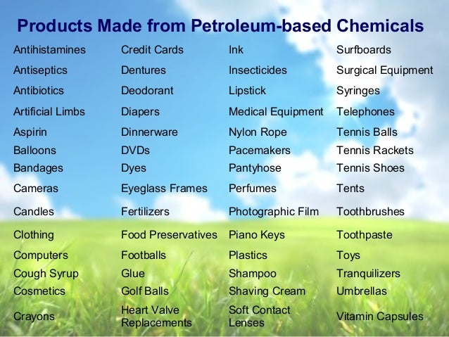 What Natural Resources Is Ink Made Out Of
