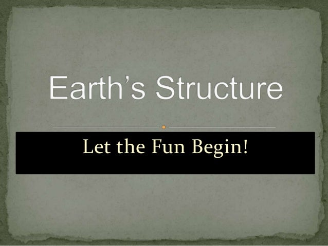 Earths structure
