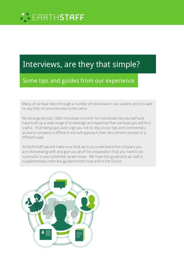 Earthstaff | Interview Guides