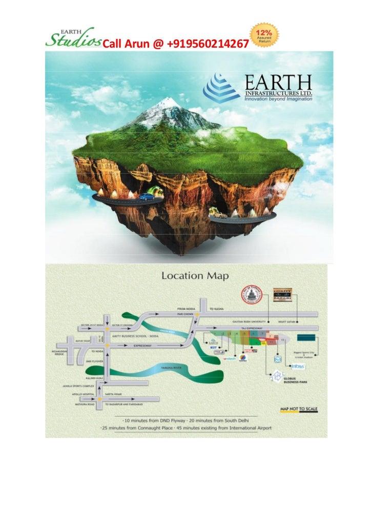 Earth Studios Greater Noida Taj Yamuna Expressway | +919560214267