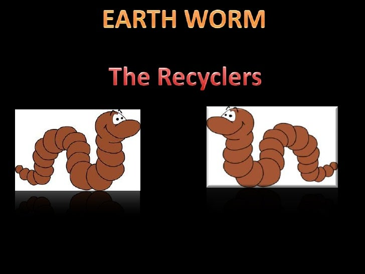 Earth worm the natural manure making machine