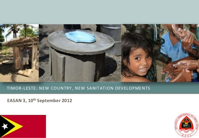 Sanitation Development in Timor Leste