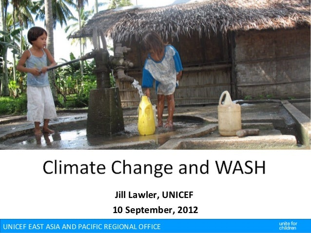 Climate Change and WASH (Unicef)
