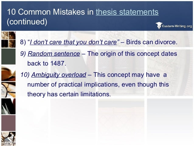 easy way to write a thesis statement Who are you i am part of the consequently, you must write thesis statements that are arguable, not factual statements of fact seem easy to write about because, well, they are easy to prove after all, they're facts.