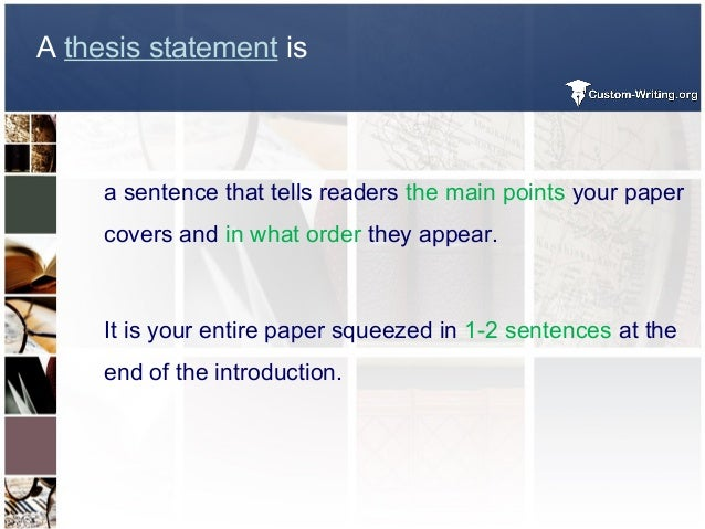 a thesis statement includes What a thesis statement includes no matter what type of writing that you do, whether you are writing an essay in a nursing class or an essay for a literature class.