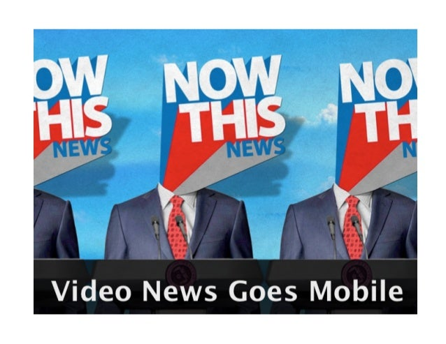 New Models for News | Background on NowThis News by Eason Jordan | Journalism Interactive Conference 2013 | journalisminte...
