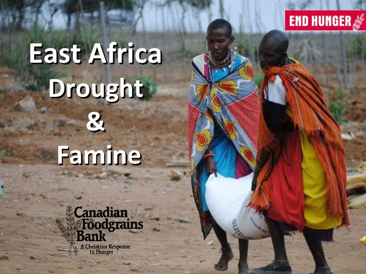 East Africa  Drought  &  Famine