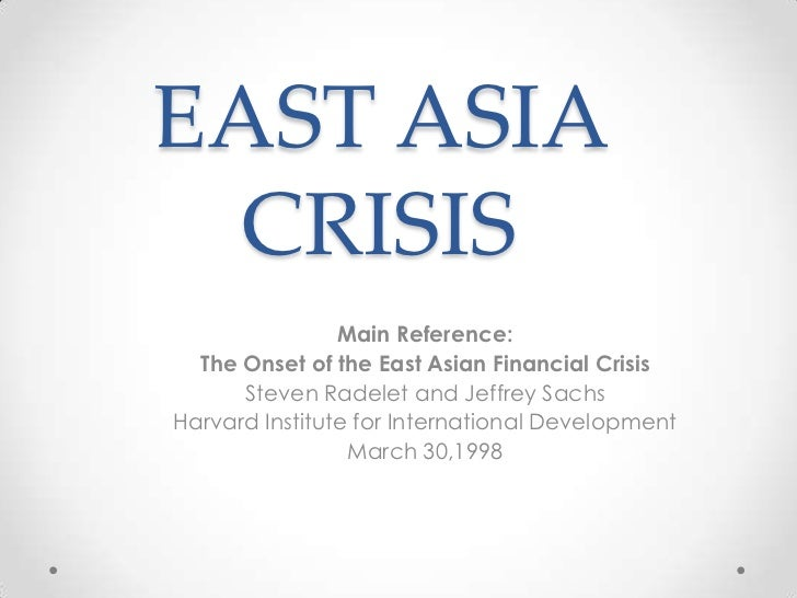 East asian crisis