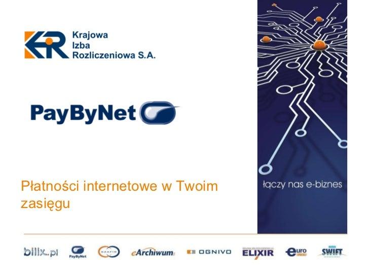 PayByNet - Piotr Kiełcz