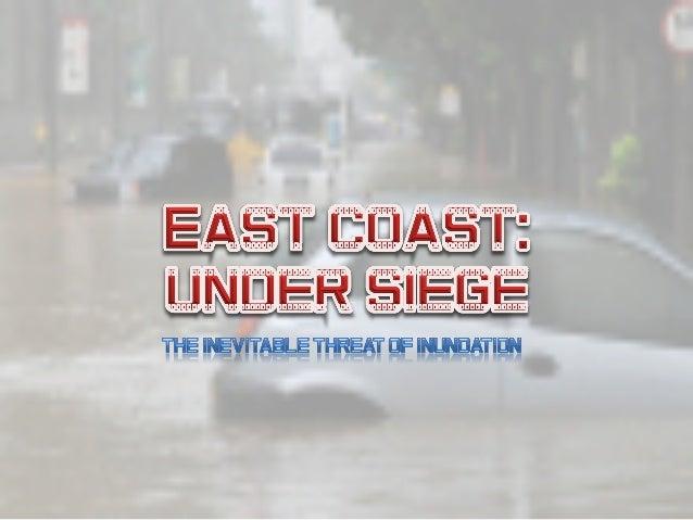 East coast innundation   prepare to act