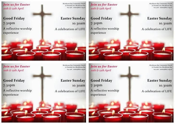 Easter 2009 Advertising