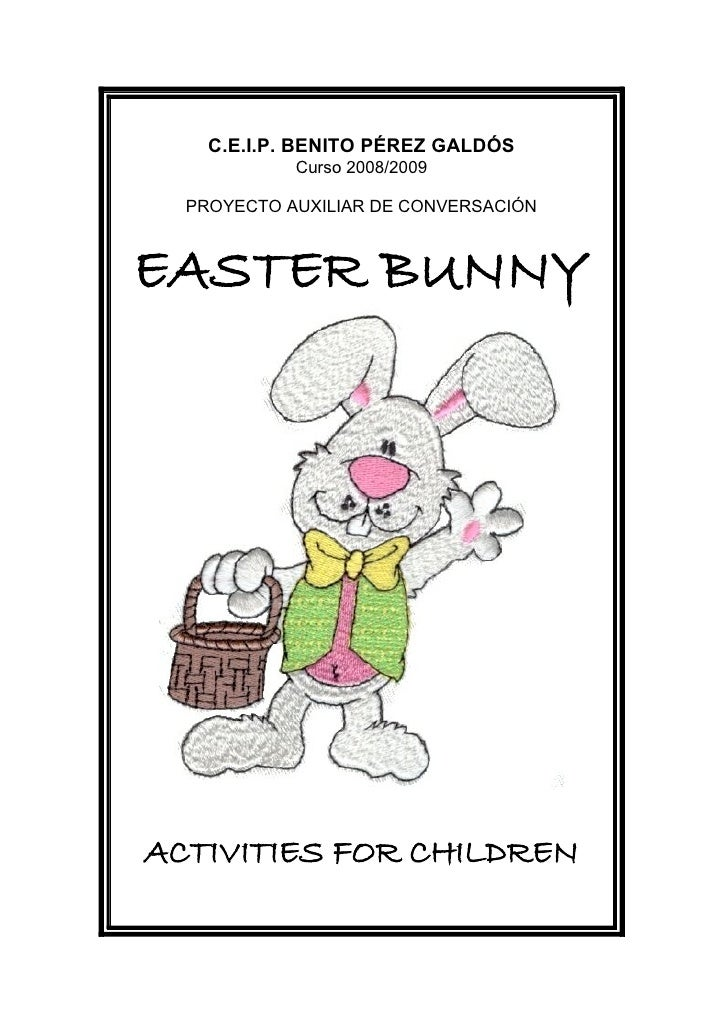 Easter bunny proyect
