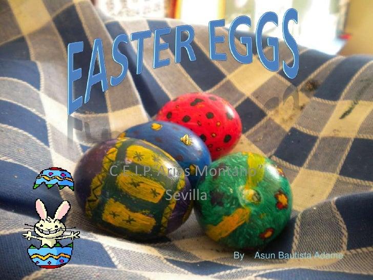 Easter eggs INFANTIL