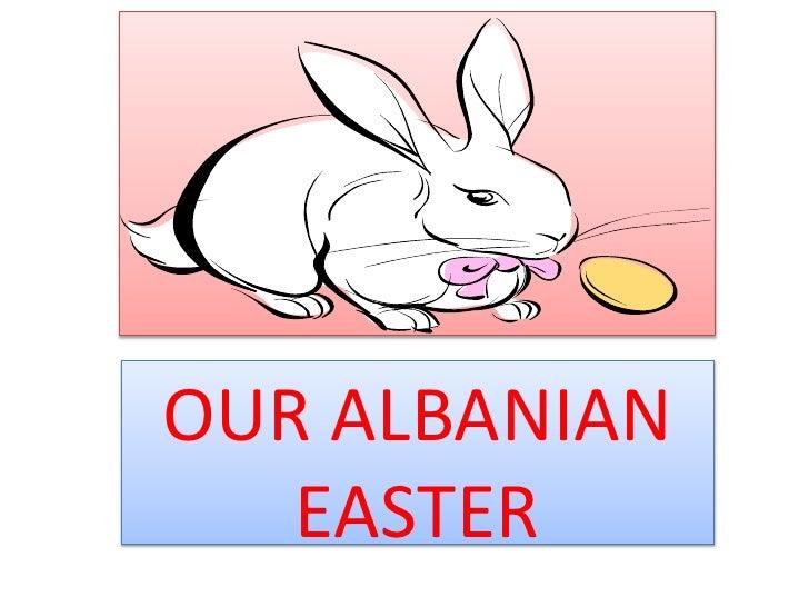 Easter in albania