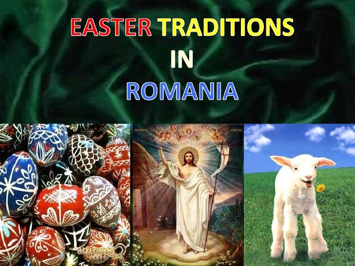 Easter Traditions In Romania