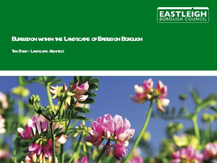 Eastleigh Landscape Character Assessment